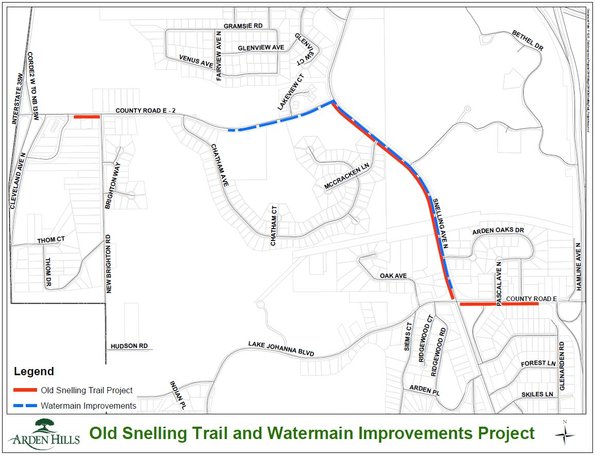 Old Snelling Trail Project Area.JPG